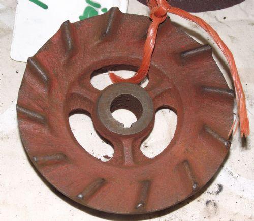Tractor Water Pump Keyway Pulley?